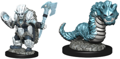 Wardlings: Ice Orc and Ice Worm
