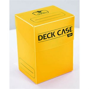 Ultimate Guard Deck Case 80+ Yellow