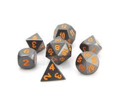 RPG Set - Gunmetal w/ Orange