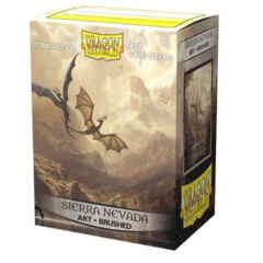 Dragon Shield Box of 100 in Brushed Art Sierra Nevada