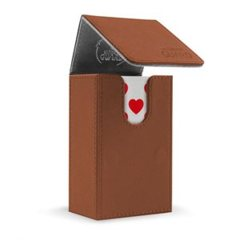 Ultimate Guard French Tarot Flip Deck Case 80 - Brown