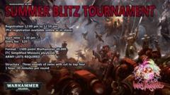 Warhammer Summer Blitz Tournament