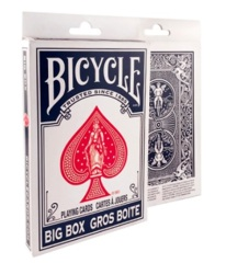 Bicycle Playing Cards: Big Box Blue