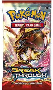 Pokemon XY9 Breakthrough Booster Pack