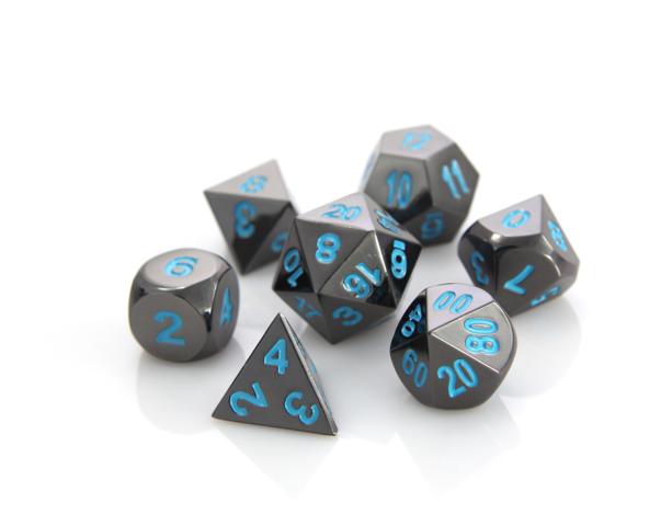 RPG Set - Sinister Chrome w/ Blue