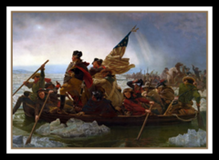 Ultra Pro - Deck Protectors - Washington Crossing the Delaware