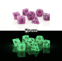 RPG Set - Glow-in-the-Dark Purple
