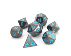 RPG Set - Gunmetal w/ Blue