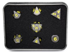 RPG Set - Gunmetal w/ Yellow