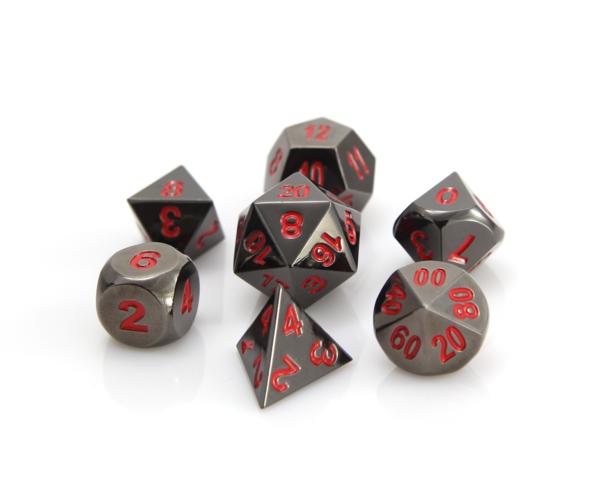 RPG Set - Sinister Chrome w/ Red