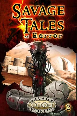 STOH-1: Savage Tales of Horror Volume Two