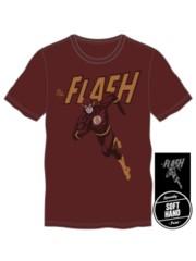 The Flash Burgundy T-shirt Size M
