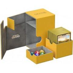 Ultimate Guard - Flip'N'Tray Deck Case 100+ Standard Size Xenoskin Amber