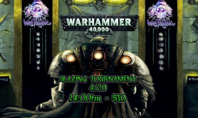 Warhammer 40k Blazing Tournament