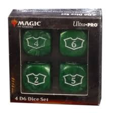 Ultra Pro Dice: Deluxe Loyalty Set - Green