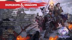 Dungeons and Dragons Summer Camp Week 1