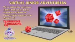 Virtual Junior Adventurers - Friday
