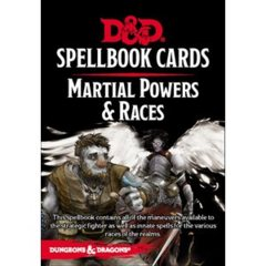 Dungeons And Dragons: Updated Spellbook Cards - Martial Deck