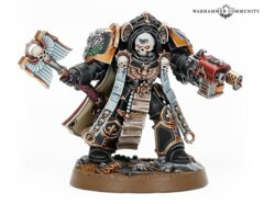 Space Marines Terminator Chaplain Tarentus Made-to-Order (not available Oct. 31)