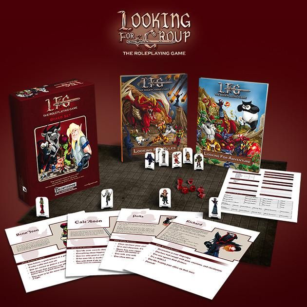 Looking For Group: The Roleplaying Game Boxed Set