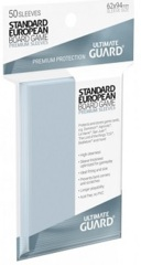 Ultimate Guard Premium Euorpean Board Game Sleeves (62mmx94mm)