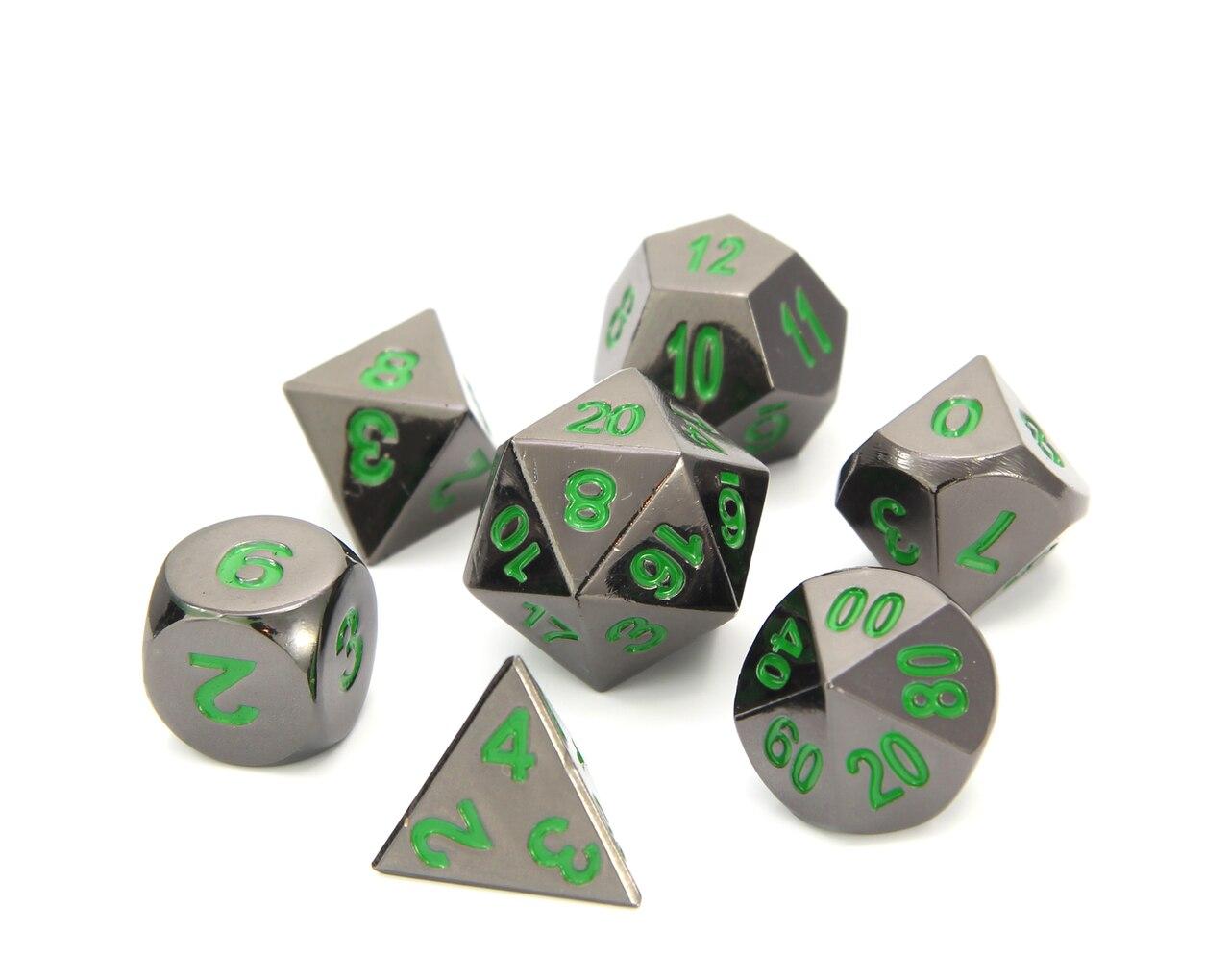 RPG Set - Sinister Chrome w/ Green