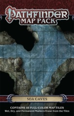 Pathfinder Map Pack: Sea Caves