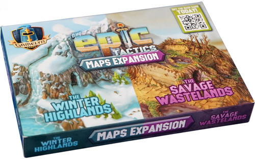 Tiny Epic Tactics Maps Expansion