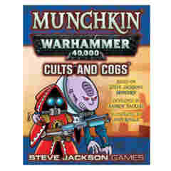Munchkin Warhammer 40,000 Cults and Cogs Expansion