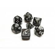 Nebula Black w/White 7D set