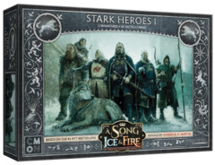 A Song of Ice & Fire - Tabletop Miniatures Game - Stark Heroes 1