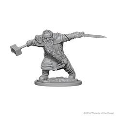 Nolzur's Marvelous Unpainted Miniatures - Dwarf Fighter