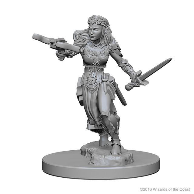 Nolzurs Marvelous Unpainted Miniatures Elf Ranger Female