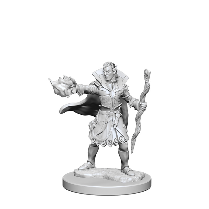 Pathfinder Battles Unpainted Minis - Elf Male Sorcerer