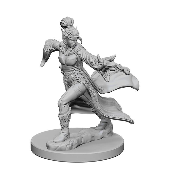 Pathfinder Battles Unpainted Minis - Elf Female Sorcerer