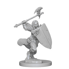 Pathfinder Battles Unpainted Minis - Half-Orc Female Barbarian
