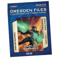 The Dresden Files: Expansion 3 - Wardens Attack