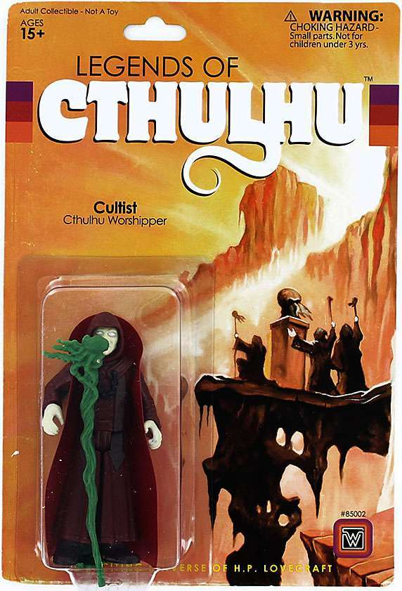 Legends of Cthulhu Cultist Action Figure