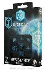 Ingress 7D dice set Resistance