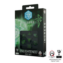 Ingress 7D dice set Enlightened