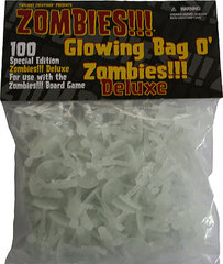 Zombies!!! Glowing Bag o' Zombies Deluxe
