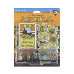 Agricola: Blue player pieces
