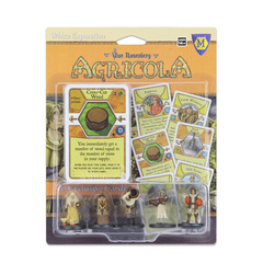 Agricola: White player pieces