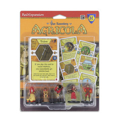 Agricola: Red player pieces
