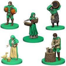Agricola: Green player pieces