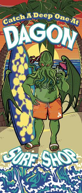Cthulhus Summer Fun Beach Towel