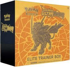 Pokemon Sun and Moon Ultra Prism Elite Trainer Box Dawn Wing