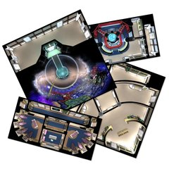 Star Trek Adventures Star Trek: the Next Generation Starfleet Tile Set