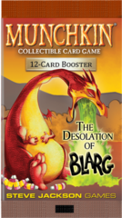 Munchkin CCG: The Desolation of Blarg booster pack