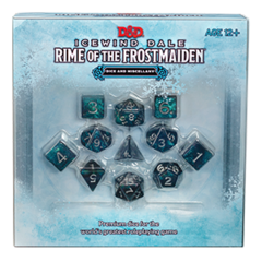Icewind Dale: Rime of the Frostmaiden Dice and Miscellary